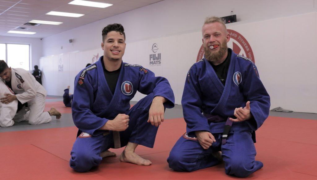 Right: Purple Belt Alex Worrall